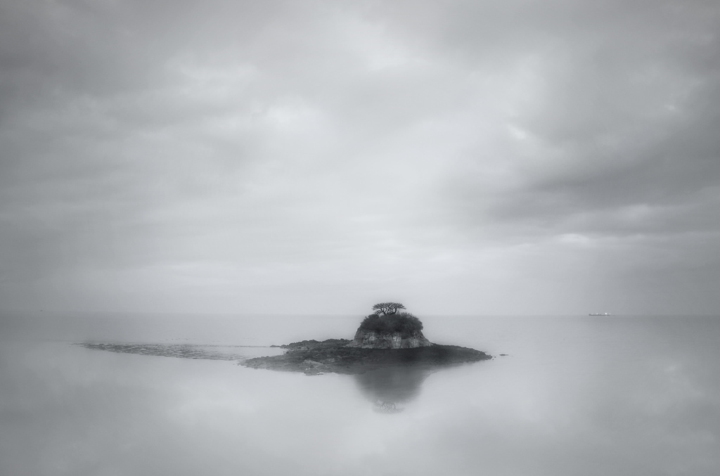 Lonely Islet by Harold Davis