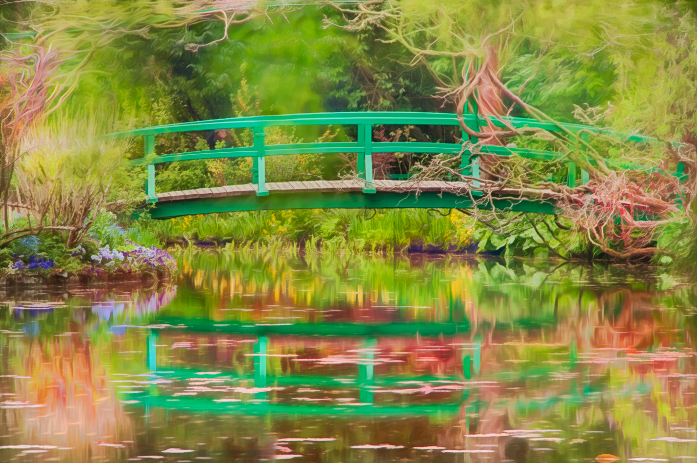 Meditation at Giverny © Harold Davis