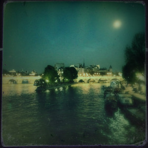 Moonight on the Seine © Harold Davis