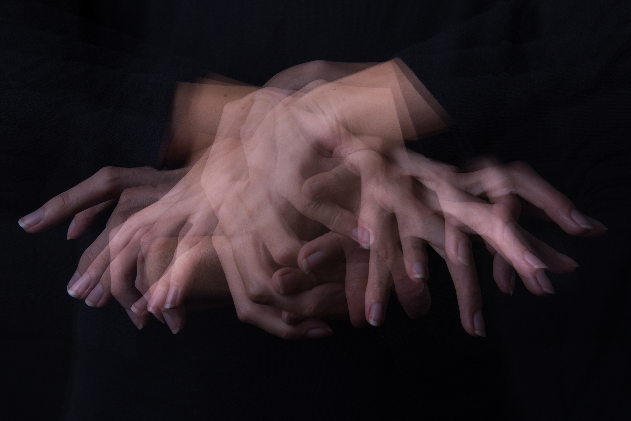 Finger and Hand Study 1