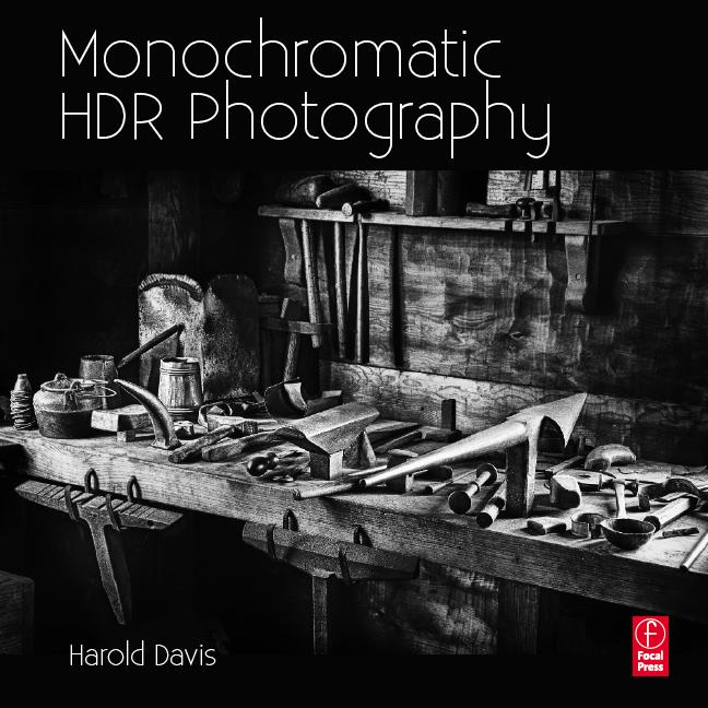Harold Davis-Monochromatic HDR book cover