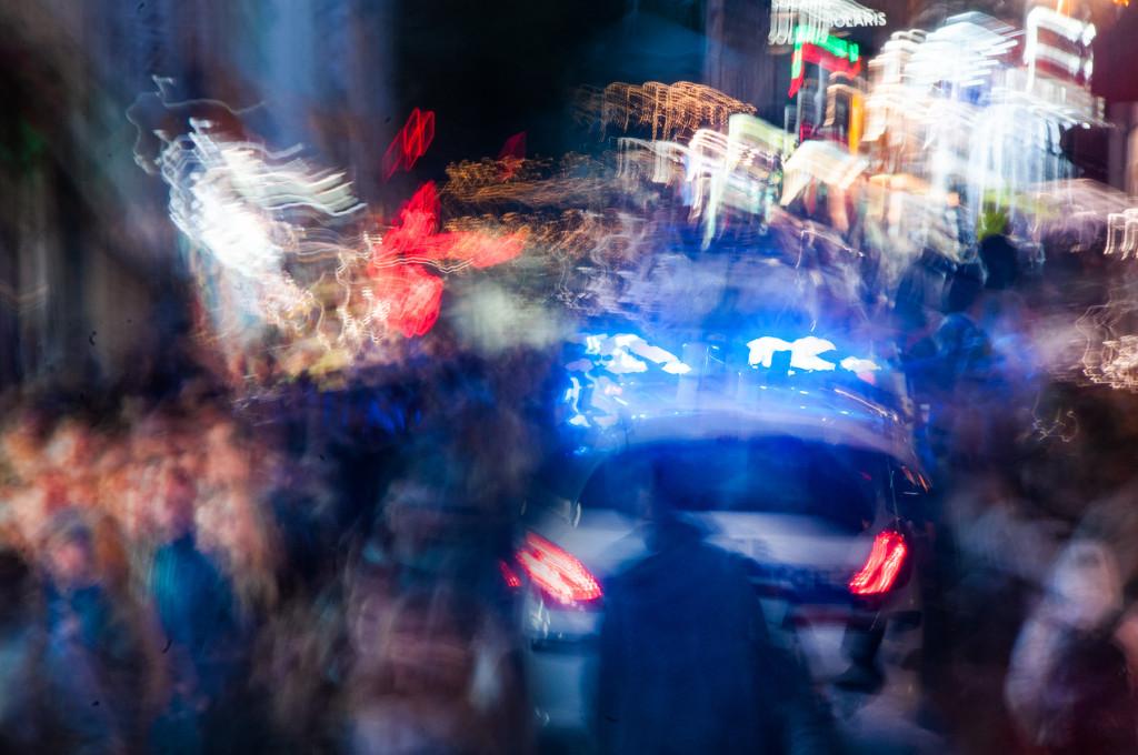 Crowds near Pigalle © Harold Davis