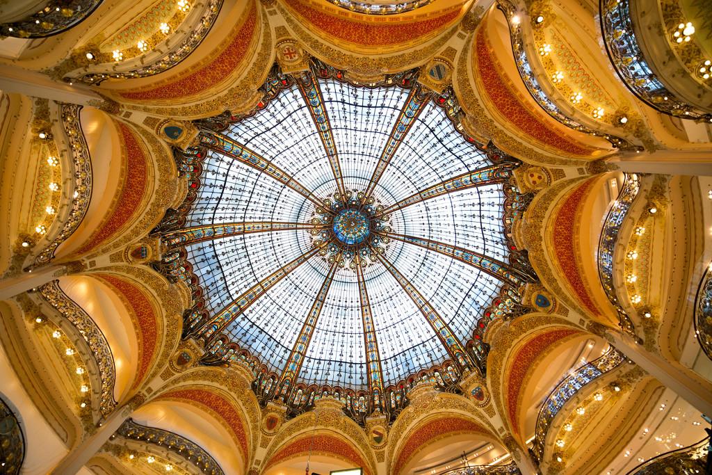 Galeries Lafayette © Harold Davis