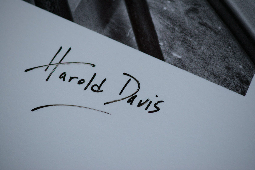 Close-up of my signature