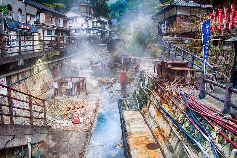 Japanese Hot Spring Resort © Harold Davis