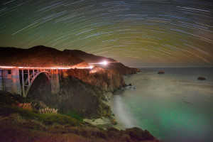 Bixby Bridge by Starlight © Harold Davis