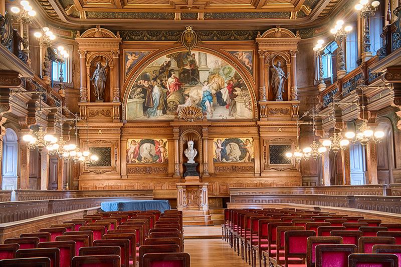 Great Hall Heidelberg University  © Harold Davis
