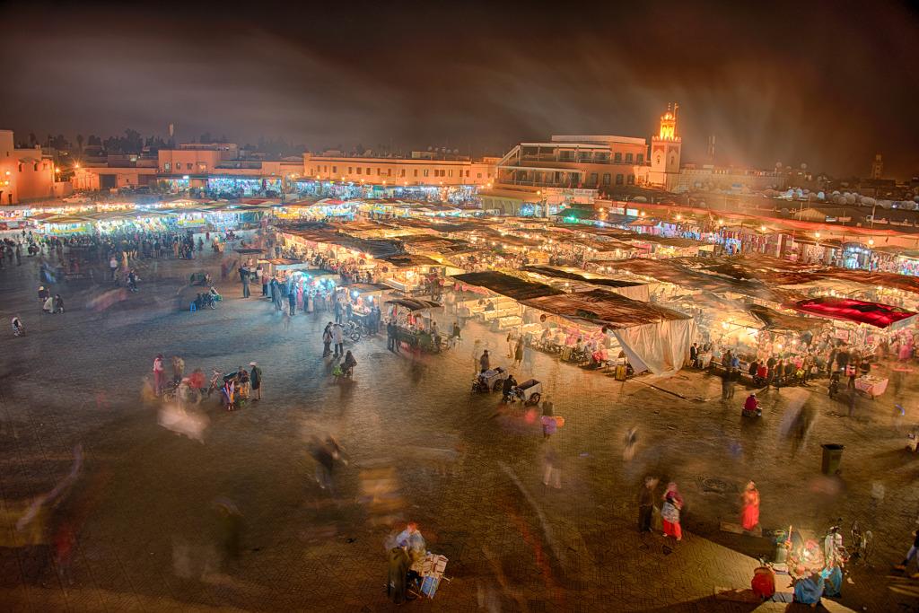 Jemaa-el-Fnaa © Harold Davis