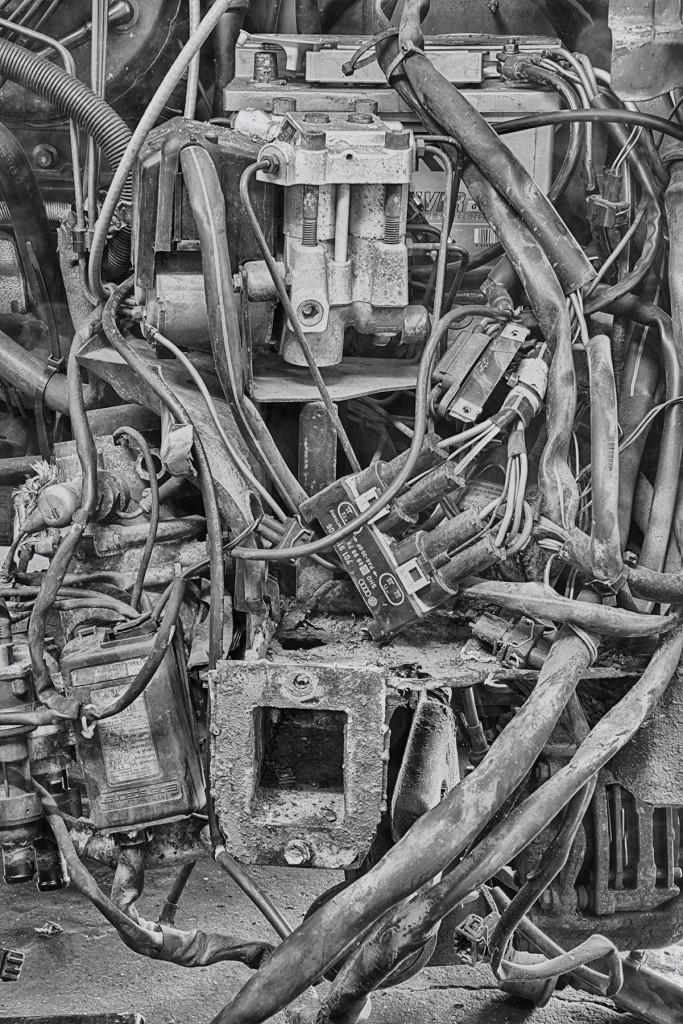 Engine at Primo's Garage © Harold Davis