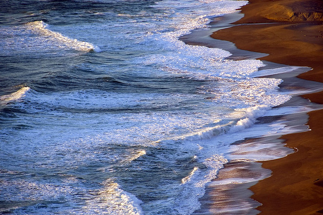 Waves on the Shore © Harold Davis