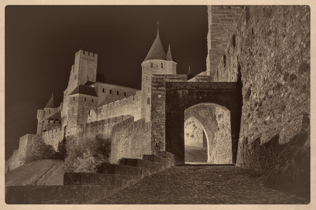 Carcassone Outer Fortifications © Harold Davis