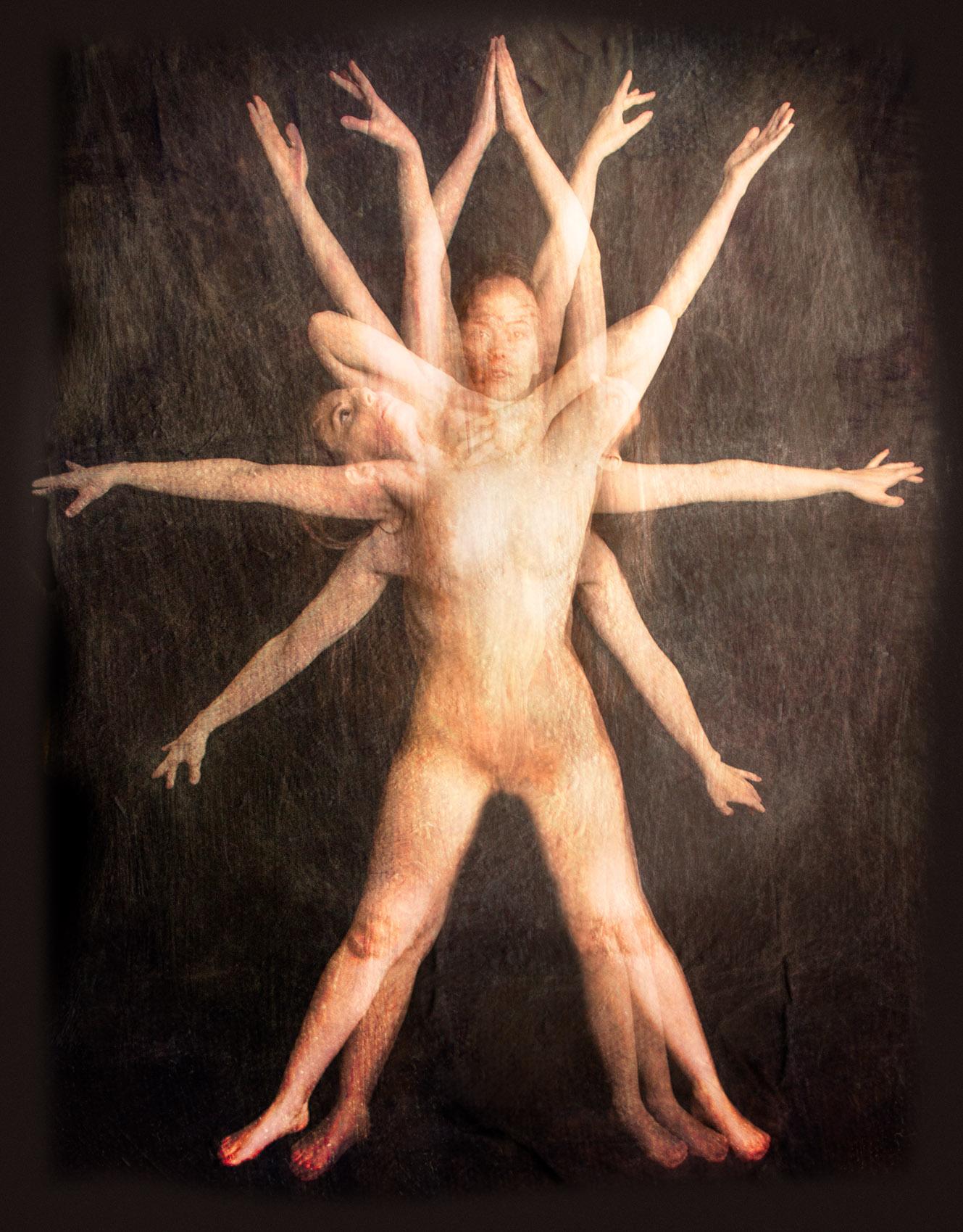 Vitruvian Woman © Harold Davis
